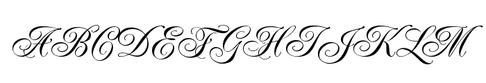 RenaissanceRegular Font UPPERCASE