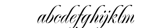 RenaissanceRegular Font LOWERCASE