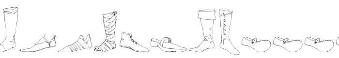 RenaissanceShoes Font UPPERCASE