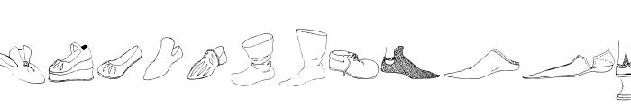 RenaissanceShoes Font LOWERCASE