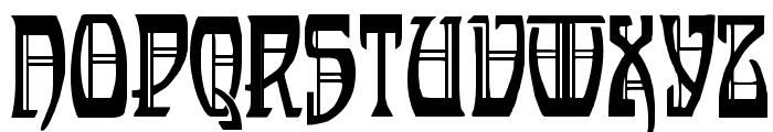 Renaldo Modern Font UPPERCASE