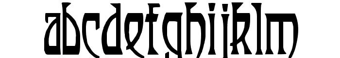 Renaldo Modern Font LOWERCASE