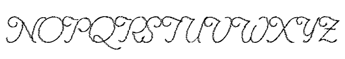 Renania Trash Font UPPERCASE