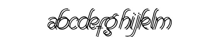 RenaniaDoubleLine Font LOWERCASE