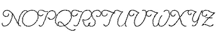 RenaniaTrash Font UPPERCASE