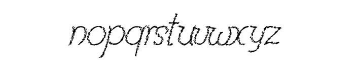 RenaniaTrash Font LOWERCASE