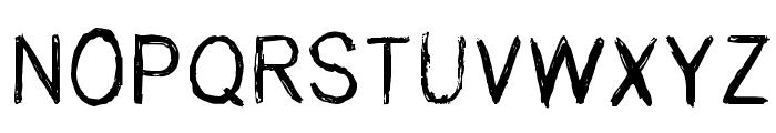 Rene Levesque Regular Font UPPERCASE
