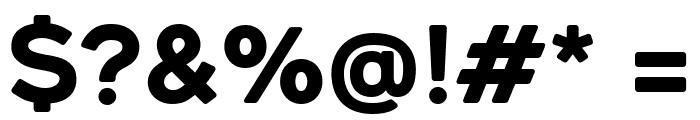RenogareSoft-Regular Font OTHER CHARS