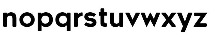 RenogareSoft-Regular Font LOWERCASE