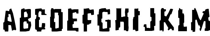 RepeatUntilFalse Font LOWERCASE
