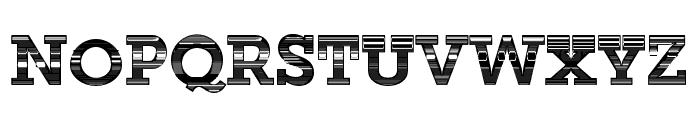 RepisaEN-ExtraBold Font UPPERCASE