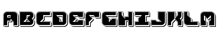Replicant Punch Font UPPERCASE
