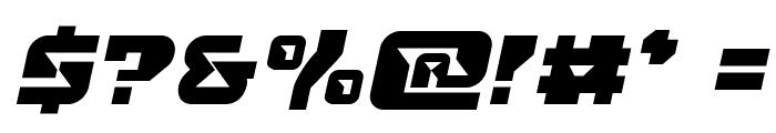 Replicant Semi-Italic Font OTHER CHARS