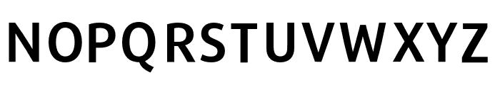 Repo-DemiBold Font UPPERCASE