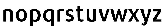 Repo-DemiBold Font LOWERCASE