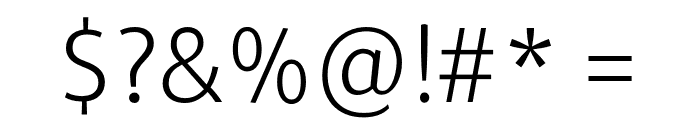 Repo-Light Font OTHER CHARS