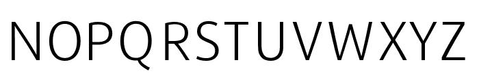 Repo-Light Font UPPERCASE