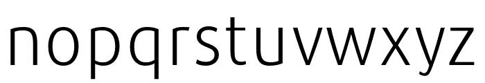 Repo-Light Font LOWERCASE