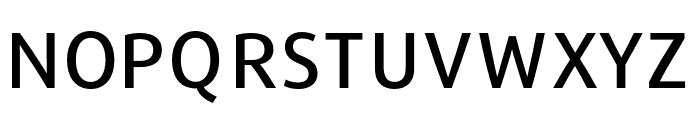 Repo-Medium Font UPPERCASE