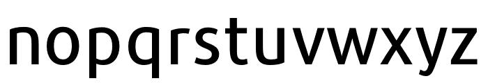 Repo-Medium Font LOWERCASE