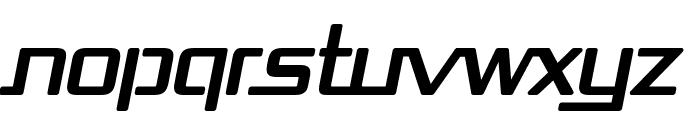 Republika Bold Italic Font UPPERCASE