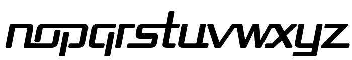 Republika Bold Italic Font LOWERCASE