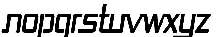 Republika Cnd Bold Italic Font UPPERCASE