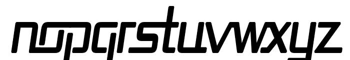 Republika Cnd Bold Italic Font LOWERCASE
