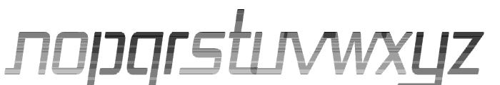 Republika Cnd - Haze Italic Font UPPERCASE