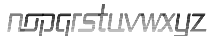Republika Cnd - Haze Italic Font LOWERCASE