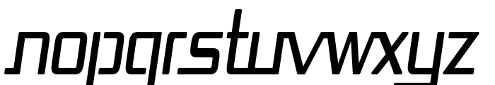 Republika Cnd Italic Font UPPERCASE