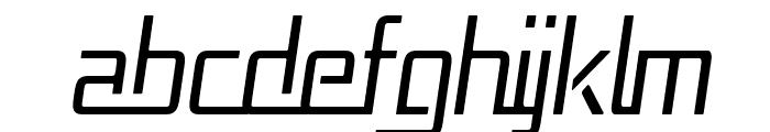Republika Cnd - Light Italic Font UPPERCASE