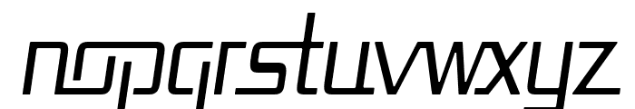 Republika Cnd - Light Italic Font LOWERCASE