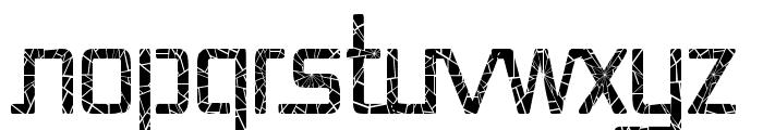 Republika Cnd - Shatter Font UPPERCASE