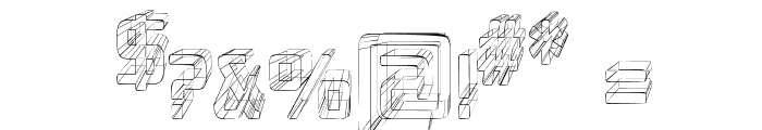 Republika Cnd - Sketch Font OTHER CHARS