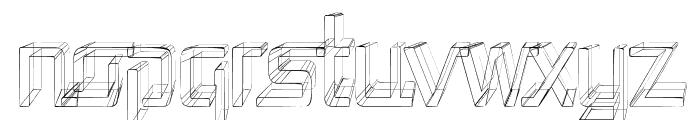 Republika Cnd - Sketch Font LOWERCASE