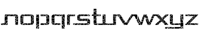 Republika Exp - Shatter Font UPPERCASE