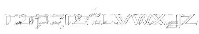 Republika Exp - Sketch Font LOWERCASE