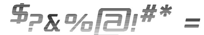 Republika - Haze Italic Font OTHER CHARS