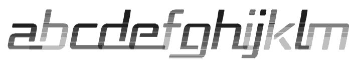 Republika - Haze Italic Font UPPERCASE