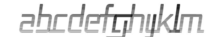Republika II Cnd - Haze Italic Font LOWERCASE