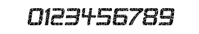 Republika II Cnd - Shatter Italic Font OTHER CHARS