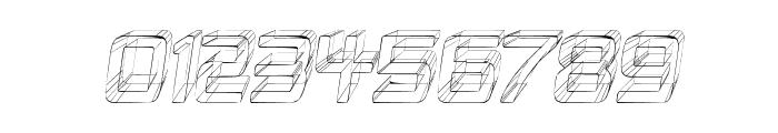 Republika II Cnd - Sketch Italic Font OTHER CHARS