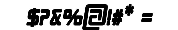 Republika II Cnd - Ultra Italic Font OTHER CHARS