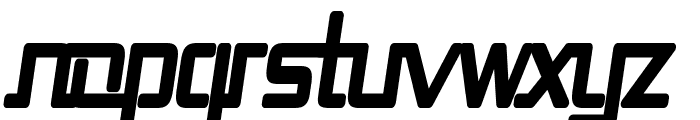 Republika II Cnd - Ultra Italic Font LOWERCASE