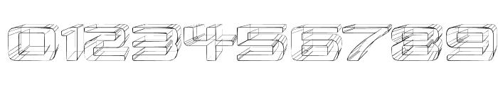 Republika II Exp - Sketch Font OTHER CHARS