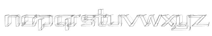 Republika II Exp - Sketch Font UPPERCASE