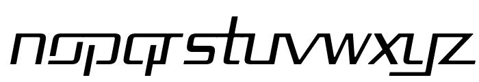 Republika II - Light Italic Font UPPERCASE