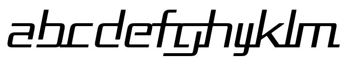 Republika II - Light Italic Font LOWERCASE