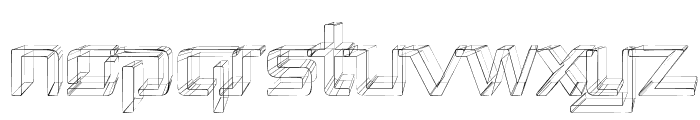 Republika II - Sketch Font UPPERCASE